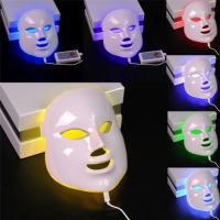 Wholesale 7 Colors Light Photon LED Electric Facial Mask PDT Skin Rejuvenation Therapy from china suppliers