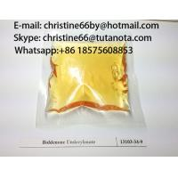 Quality Medical steroids Injectable Boldenone Undecylenate Fitness Pharmaceutical 13103-34-9 christine for sale