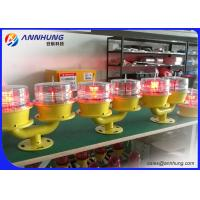 Buy cheap Solar Aviation Obstruction Light 32cd Low Intensity Double Light from wholesalers
