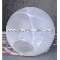 Buy cheap REPLACEMENT SCREEN OPAL WHITE BALL ART NOUVEAU ART DECO LAMP SHADE GLASS BALL from wholesalers