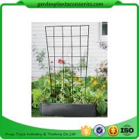 """Wholesale Sturdy Metal Vegetable Garden Trellis , Garden Green Bean Trellis 56"""" trellis is 47-1/2"""" H installed; 30"""" W at the top a from china suppliers"""