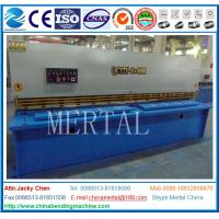 Wholesale NC Control Guillotine Shearing Machine E21S CE Standard for Plate Sheet Cutter from china suppliers