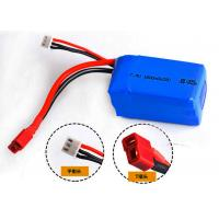 Wholesale 1800mAh 7.4V Lithium Polymer Batteries , Remote Control Car Rechargeable Batteries from china suppliers