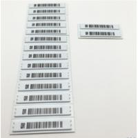 Buy cheap White Anti Shoplifting Label Electronic Shelf For Valuables Security Flat Steel Nail from wholesalers