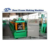 Buy cheap Galvanized Steel Carbon Steel Door Frame Roll Forming Machine from wholesalers