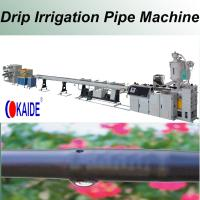 Quality Inline Drip Irrigation Pipe Production Line Round Dripper for sale
