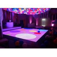 Wholesale RGB Disco Interactive LED Floor P6.25 SMD3535 Indoor Dance Floor Screen from china suppliers