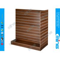 Wholesale MDF Shoes T Slatwall Display Stand 3 Sided, Melamine Lamianted Finish from china suppliers