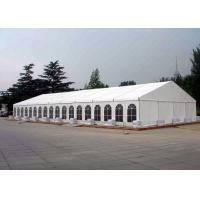 Wholesale Waterproof Canvas Roof Steel Structure Canopy Party Tent For 200 / 100 People from china suppliers