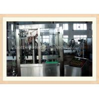 Wholesale Milk Beverage Automatic Bottle Filling Machine / Aluminum Foil Sealing Machine from china suppliers