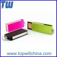 Wholesale Tiny Twister Pen Drive 2GB 4GB 8GB 16 GB 32GB Free Logo Printing from china suppliers