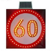 Wholesale Solar LED Traffic Sign Board Speed-Limit and Warning Sign from china suppliers