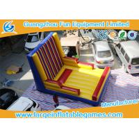 Wholesale Excited Inflatable Sport Games / Outdoor Inflatable Velcro Wall from china suppliers