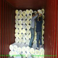 Wholesale 16kg/m3 25mm Glass wool blanket with Aluum. foil/Glass wool from china suppliers