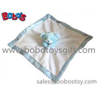Quality China Made Softest Blue Bear Baby Comforter Blanket In Wholesale Price for sale