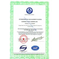 Chems Co., (Zhengzhou) Ltd. Certifications