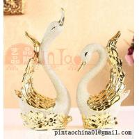 Wholesale Fashion gorgeous swans furnishing articles from china suppliers