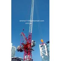 Wholesale D4522 45m Boom Luffing Tower Crane 2.2t Tip Load in Sri Lanka from china suppliers