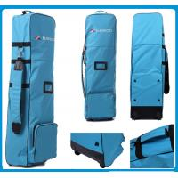 Wholesale PALM SPRINGS Carry Golf Bag BLUE/GREEN , WITH HOOD AND BALL BAG from china suppliers