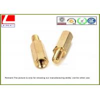 Wholesale High Precision Cnc Turning Male Female Thread Bolts , Brass Machined Parts For Fastener from china suppliers