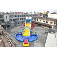 Wholesale 0.55mm PVC Tarpaulin Giant Inflatable Slide For Kids , 1 - 3 Years Warranty from china suppliers