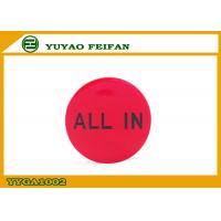 Wholesale Customized Promotional Red Poker Dealer Button ABS Material 30 x 3mm from china suppliers