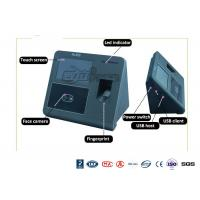 Buy cheap Biometrict Face Identification Access Control System IR Camara TCP IP 4.3 Inch Touch Screen from wholesalers