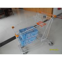 Wholesale Asian Style 180L Supermaket Wire Shopping Trolley With Plastic Baby Seat from china suppliers