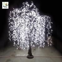 Wholesale UVG Light Tree LED Willow tree leaf green color Indoor Decoration from china suppliers