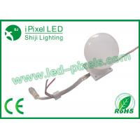 Wholesale Full Color 50mm Round Led Pixel Light With Ucs1903 DC 24V White Case from china suppliers