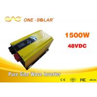 Wholesale Intelligent Off Grid Sine Wave Invertor / Solar Power System Inverter from china suppliers