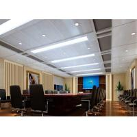 Wholesale Fireproof Aluminum Suspended Ceiling Tiles Acoustical For Office / Conference Room from china suppliers