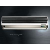 Wholesale Remote Controlling Aluminum Silver Compact Air Curtains For Door 9-11m/s from china suppliers