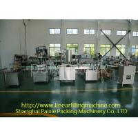 Quality Pneumatic Driven Tin Can Powder Filling Sealing Machine For Coffee Powder Fillers for sale