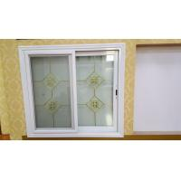 Wholesale Living Room Tempered Glass Aluminium Sliding Windows Thermal Break With Louver from china suppliers