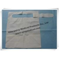 Wholesale Waterproof Dental Bibs 3 Layer / Disposable Paper Bibs With Pocket from china suppliers