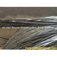 Wholesale Anti-twisting Braided Galvanized Steel Wire Rope 12strand braided from china suppliers