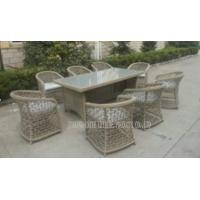 Wholesale Outdoor Garden Rattan Wicker Furniture , Wicker Patio Furniture Sets All Weather from china suppliers