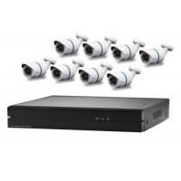 Wholesale Bullet Poe Security Camera Kit , All In 1 Package 8 Channel Poe Camera System from china suppliers