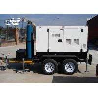Wholesale Low Noise Trailer Mounted Generator Mobile Six Cylinder 30kVA 27kVA from china suppliers