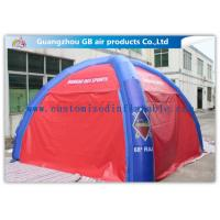 Wholesale ODM Outdoor Dome Inflatable Air Tent Inflatable Military Command Tent With 4 / 6 / 8 / 10 Legs from china suppliers