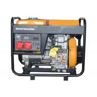 Wholesale 3 Phase 5000W Portable Small Portable Generators Open Type Hand Start from china suppliers
