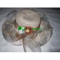 Wholesale fedora straw hat from china suppliers