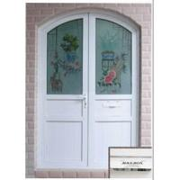 Wholesale Double Panel Casement Door with Arc from china suppliers