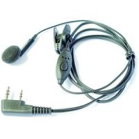 Wholesale 1 ear intercom headset for 2 way radio from china suppliers