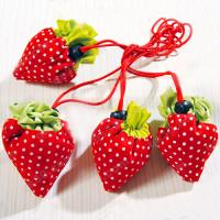 Wholesale Strawberry shopping bag, foldable strawberry bag from china suppliers