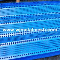 Wholesale windbreak anti-wind perforated plate mesh unimodal,bimodal,three peak from china suppliers