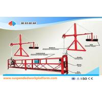 Wholesale 1.8KW 8KN ZLP 800 Durable Suspended Working Platform With Steel Rope 8.6mm Diameter from china suppliers