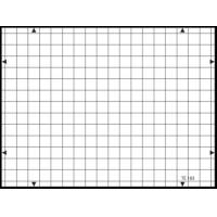 Wholesale 3nh TE183 A REFLECTANCE 14 horizontal and 19 vertical lines 19 / 14 – TV cameras GRID TEST CHART from china suppliers