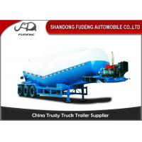 Wholesale 30-60 Cubic Meter Bulk Cement Tanker Trailer 3x13 Ton Axle Steel Q345B End Plate from china suppliers